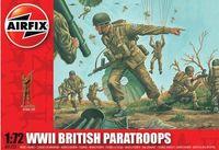 """Набор миниатюр """"Британские парашютисты WW.II"""" (масштаб: 1/72)"""