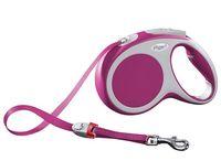 "Поводок-рулетка для собак ""Vario"" (розовый, размер M, до 25 кг/5 м, арт. 12076)"