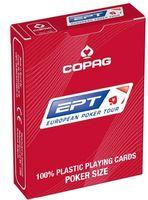 """Карты для покера """"Copag EPT"""" (красная рубашка)"""