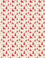 """Простыня хлопковая """"Merry Christmas"""" (220х240 см)"""