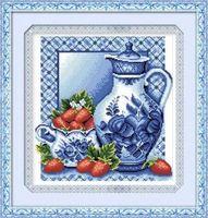 """Алмазная вышивка-мозаика """"Гжель"""" (370х400 мм; арт. 7711705)"""