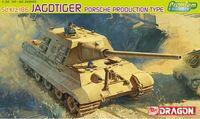"""ПТ-САУ """"Sd.Kfz.186 Jagdtiger Porsche Production"""" (масштаб: 1/35)"""