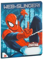 """Тетрадь в линейку """"Spider-man Classic"""" (18 листов; в ассортименте)"""