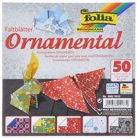 """Бумага цветная для оригами """"Орнаменты"""" (150х150 мм; 50 листов)"""