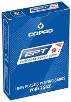 """Карты для покера """"Copag EPT"""" (синяя рубашка)"""