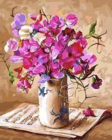"Картина по номерам ""Цветочная мелодия"" (400х500 мм)"