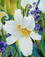 "Алмазная вышивка-мозаика ""Лилия"" (200х250 мм)"