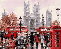 "Картина по номерам ""Будни Лондона"" (500х650 мм)"