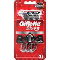 """Станок для бритья одноразовый """"Blue 3. Red"""" (3 шт.)"""
