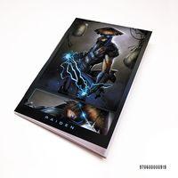 "Блокнот белый ""Mortal Kombat"" А7 (919)"