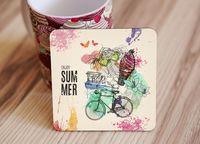 "Подставка под кружку ""Enjoy summer"" (art. 57)"