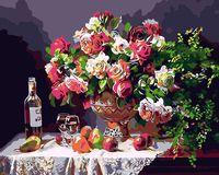 "Картина по номерам ""Натюрморт с цветами"" (400х500 мм)"