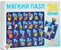 """Мягкий пазл """"ABC"""" (24 элемента)"""