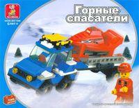"""Конструктор """"Горные спасатели. Лыжный трейлер"""" (135 деталей)"""
