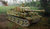 """Тяжелый танк """"Pz.Kpfw.VI Tiger I Hibryd"""" (масштаб: 1/35)"""