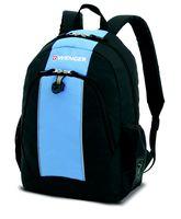 Рюкзак WENGER (20 литров, черный/голубой)