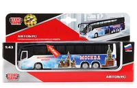 """Модель машины """"Экскурсионный автобус. Москва"""" (масштаб: 1/43)"""