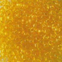 Бисер прозрачный №01181 (светло-желтый)