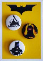 """Набор значков маленьких """"Batman"""" (арт. 529)"""