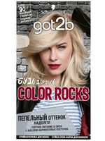 "Краска для волос ""Color Rocks"" тон: 102, бежевый блонд"