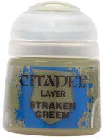 """Краска акриловая """"Citadel Layer"""" (straken green; 12 мл)"""
