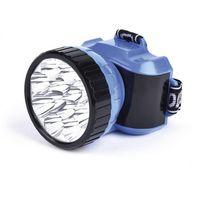 Аккумуляторный налобный фонарь 12 LED Smartbuy (синий)