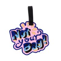 """Бирка на багаж """"Not your bag"""""""