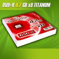 Диск DVD+R 4.7Gb 8x Esperanza Titanum (10 штук в конвертах)