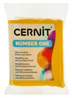 """Глина полимерная """"CERNIT Number One"""" (жёлтый; 56 г)"""