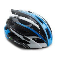 """Шлем велосипедный """"WT-016"""" (черный/синий/белый)"""