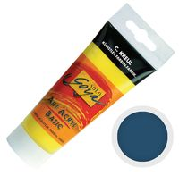 "Краска акриловая матовая ""Solo Goya Basic"" 25 (100 мл; сине-серый)"