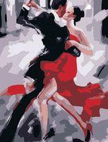 """Картина по номерам """"Танец танго"""" (400x500 мм; арт. MG122)"""