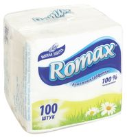 "Бумажные салфетки ""Romax"" (100 шт.)"