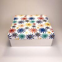 """Подарочная коробка """"Калейдоскоп"""" (19x19x7,5 см)"""