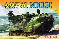 "Десантно-гусеничная машина-амфибия ""AAVP7A1 MICLIC"" (масштаб: 1/72)"