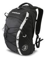 Рюкзак WENGER (25 литров, черный/серебристый)