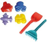 Набор для игры в песочнице (6 предметов)
