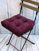 """Подушка на стул """"Velours"""" (40х40 см; сливовая)"""