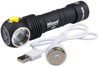 Фонарь Armytek Wizard WR Magnet USB + 18650 (белый свет)