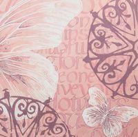 "Бумага для скрапбукинга ""Шебби-шик"" (15х15 cм; 5 листов; арт. 124851)"