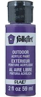 """Краска акриловая """"FolkArt. Outdoor"""" (анютины глазки; 59 мл; арт. PLD-01637)"""