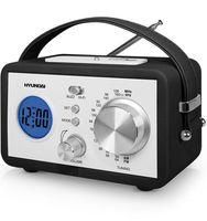 Радиоприемник Hyundai H-1612 (черная кожа)