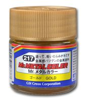 Краска Mr. Metal (gold, MC217)