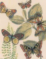 "Вышивка крестом ""Царство бабочек"""