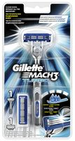 Станок для бритья Mach3 Turbo (+1 кассета)