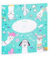 """Тетрадь в линейку """"Funny Lama"""" (12 листов)"""