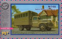 Грузовой автомобиль M14A Ford 6 (масштаб: 1/72)