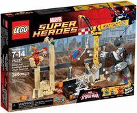 """LEGO Super Heroes """"Носорог и Песочный человек против Супергероев"""""""
