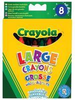 """Мелки восковые """"Crayola. Смываемые"""" (8 цветов)"""