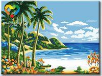 "Картина по номерам ""Райский уголок"" (300х400 мм; арт. HB3040159)"